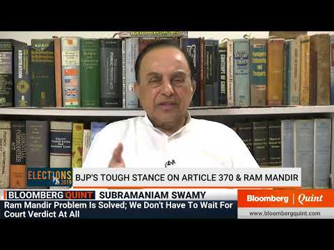 Subramanian Swamy On Modi Government's Agenda