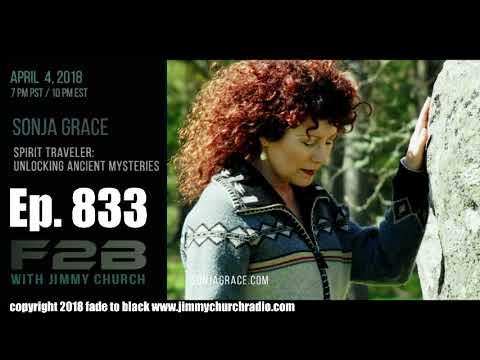 Ep. 833 FADE to BLACK Jimmy Church w/ Sonja Grace : Egypt, Lemuria and the Mu : LIVE