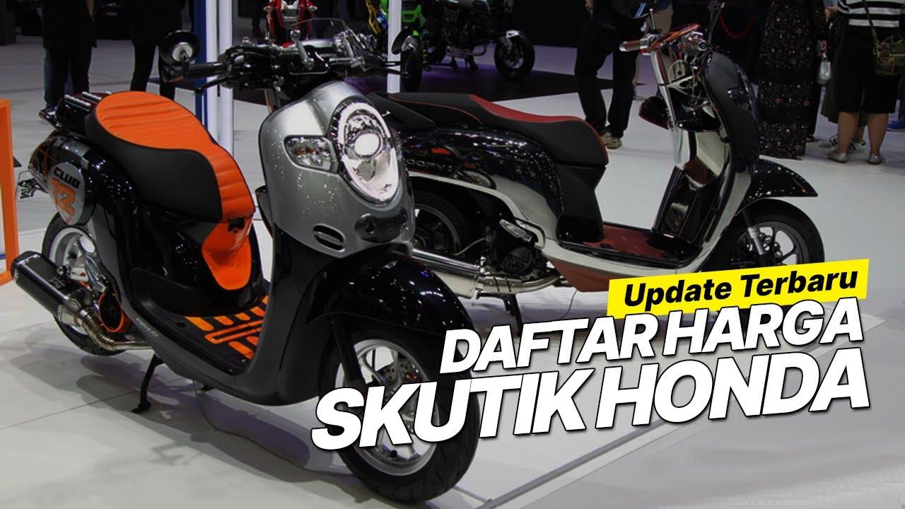 DAFTAR HARGA SKUTIK HONDA PER AGUSTUS 2020, TERMURAH BEAT CUMA RP 16 JUTAAN