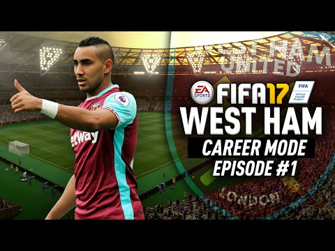 COME ON YOU IRONS!!! FIFA 17 West Ham Career Mode! #1