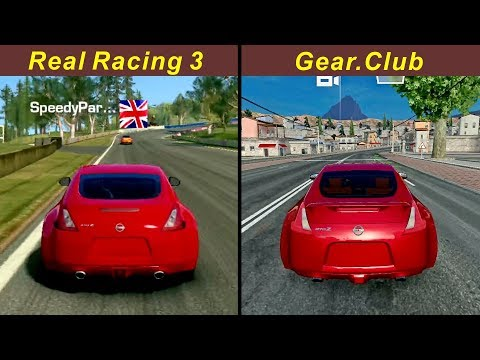 Real Racing 3 Vs Gear.Club - Nissan 370Z