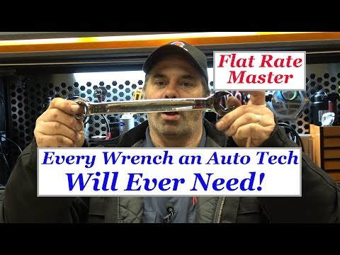Every Wrench An Auto Tech Will Ever Need!!