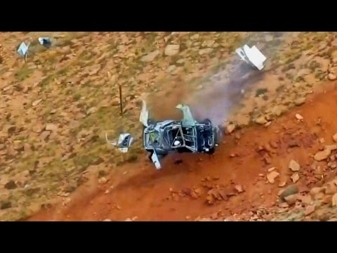 Pikes Peak International Hill Climb - Crash Compilation | HD