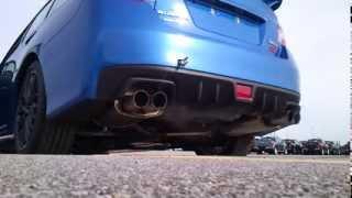 2015 Subaru WRX STI exhaust sound