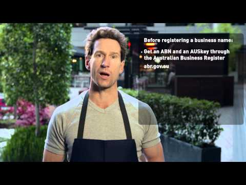 Registering A Business Name