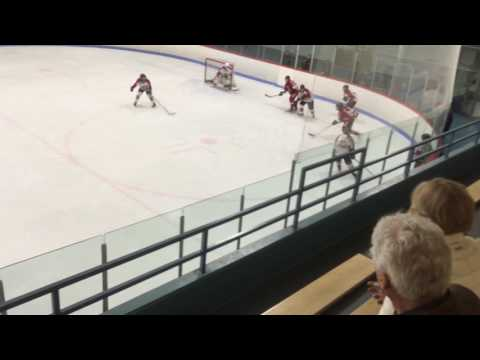 Fiona Milligan #7 - Ottawa Lady Sens(Red) vs Aurora(White) INTAA Provincials
