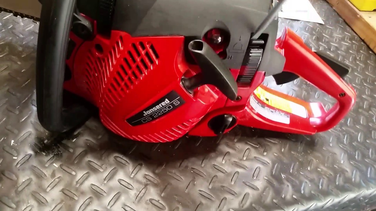 Fonkelnieuw 20 in jonsered chainsaw quick review - YouTube FG-52