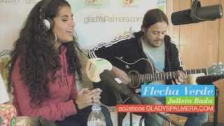 JULIETA RADA - Flecha Verde (acústico estudios Radio Gladys Palmera)
