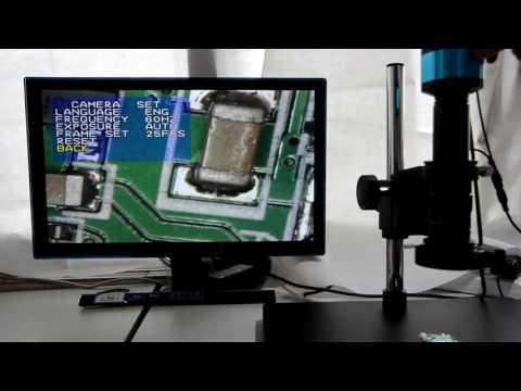 Aihome 2.0MP VGA AV 1080P Industry Digital Inspection Microscope Camera