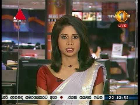 News 1st Sinhala Prime Time, Thursday, October 2017, 10PM (19-10-2017)