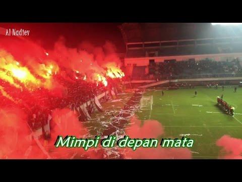 Bikin Merinding !!! Sampai Kau Bisa (Brigata Curva Sud) || PSS Sleman Vs Madura United (01-04-2017)