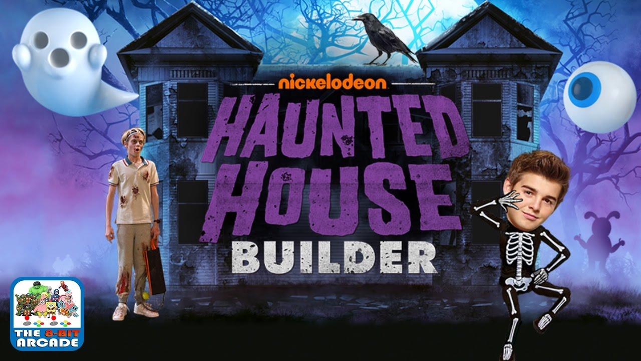 haunted house builder build the spookiest house for halloween nickelodeon games youtube
