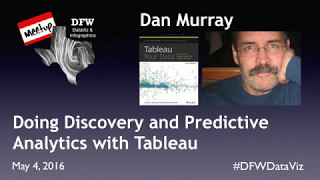 Doing Discovery and Predictive Analytics with Tableau