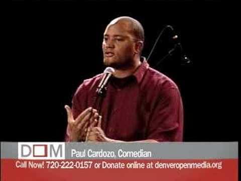 Paul Cardozo live at First Fridays at Denver Open Media