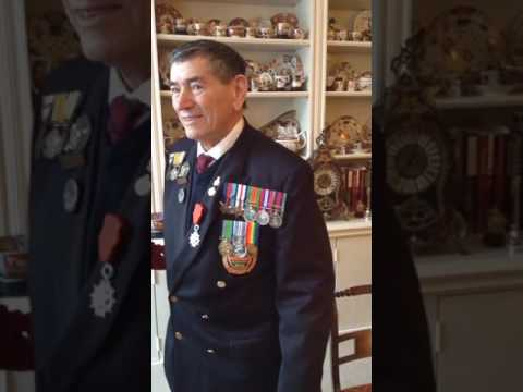 Ted Young Royal Engineers Presentation of Legion d'Honneur