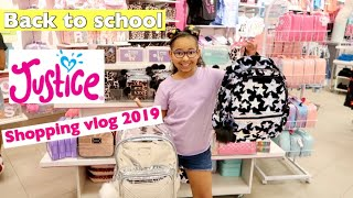 BACK TO SCHOOL SHOPPING AT JUSTICE || 2019