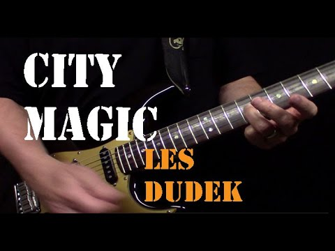 Les Dudek City Magic guitar solo...