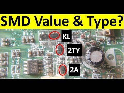 Best Way to Find the Type of SMD ( Surface Mount Device) Components