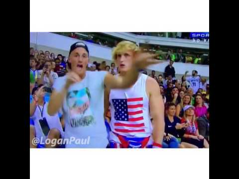 Logan Paul and Mark Dohner dabbed on TV at every Rio Olympic event