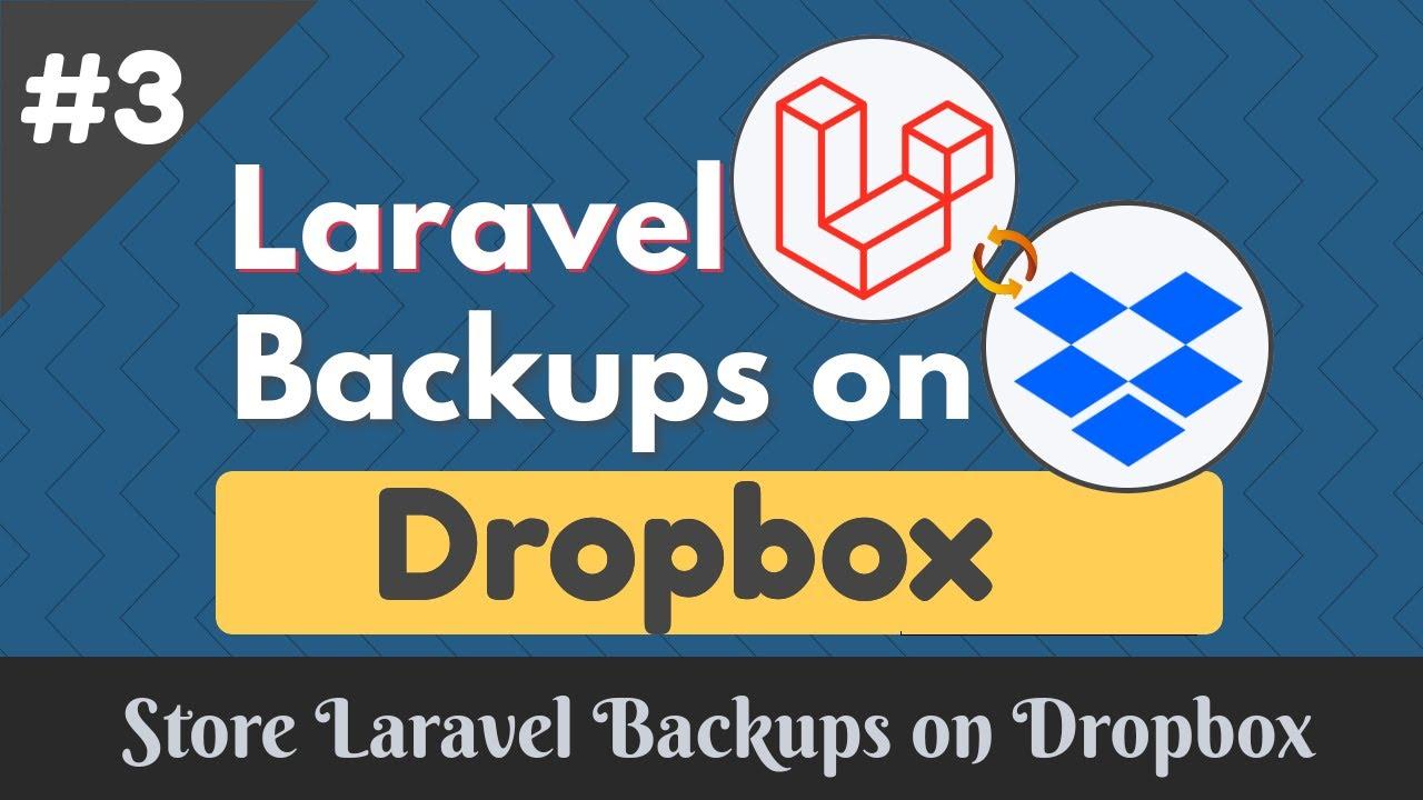 Store Automatic Laravel Backup On Dropbox #3