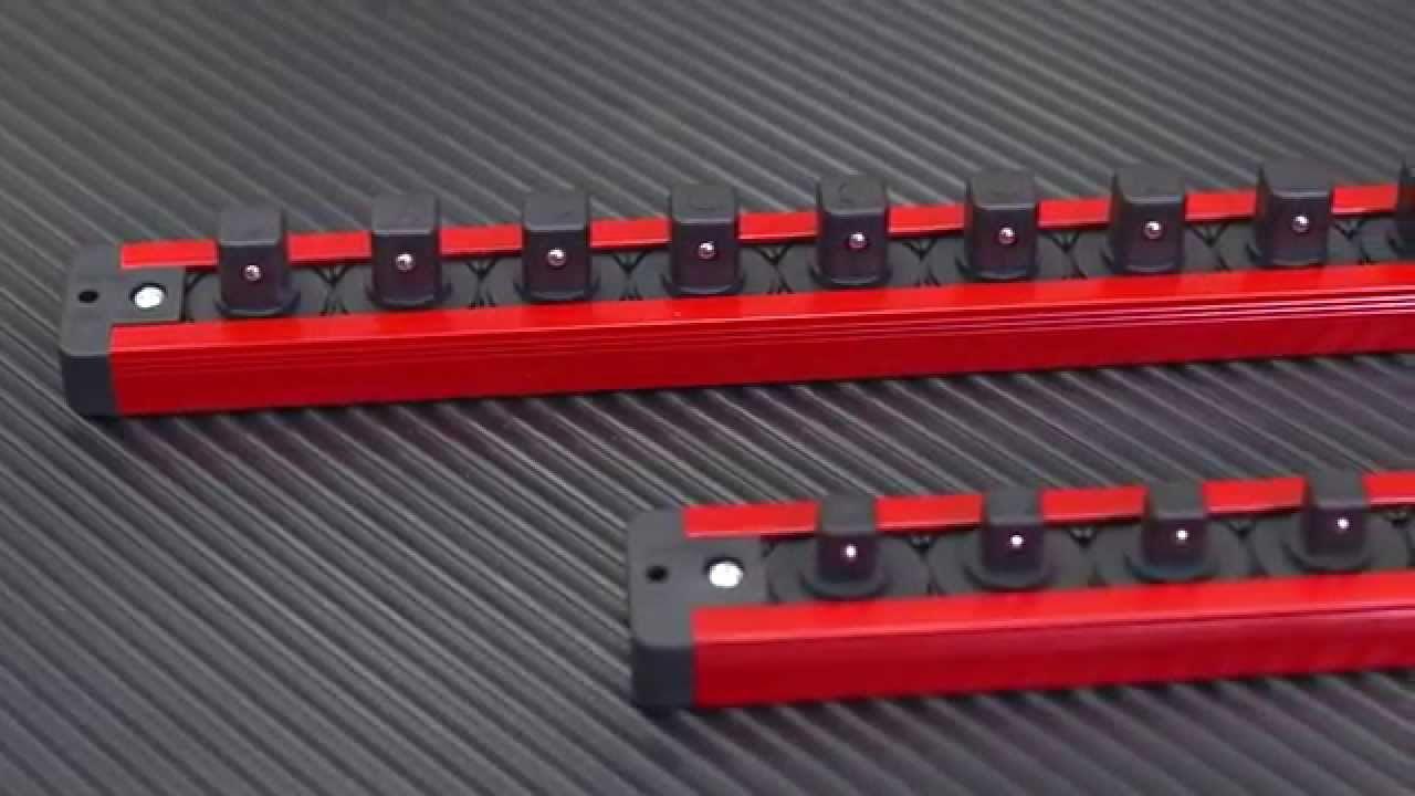 Auto Parts and Vehicles Magnetic Lock-A-Wrench Rack Torin Big Red Tool Organizer Automotive Tool Boxes & Storage