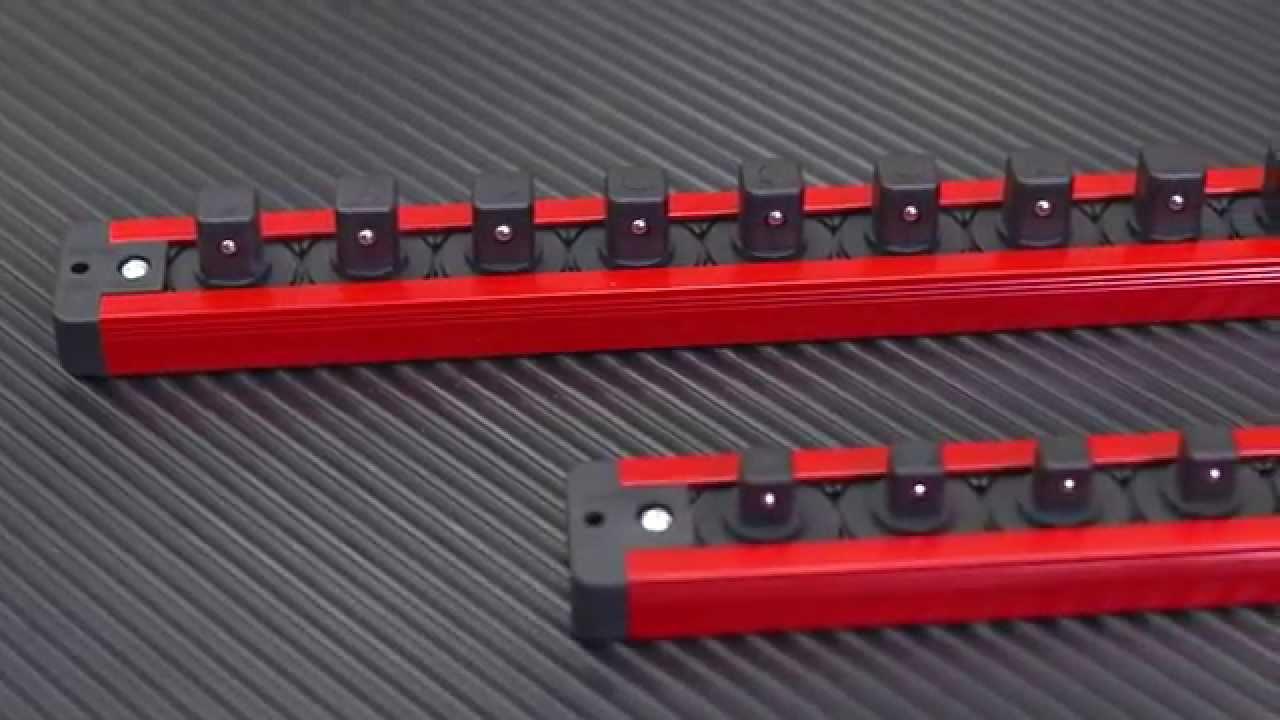 Torin Magnetic Socket Holder - YouTube