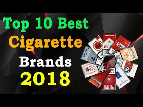 Top 10 Best Cigarette Brands in The World