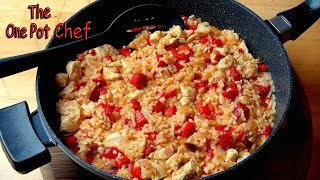 One Pan Mexican Style Rice - Recipe