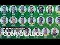 Veja os brasileiros convocados para a Copa da Mundo 2018