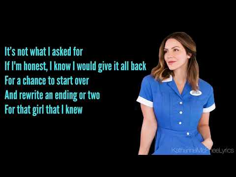 Katharine McPhee - She Used To Be Mine [From Waitress The Musical] (Lyrics)