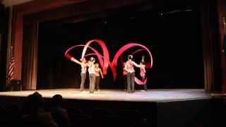 2014 MW Asian Assembly Chinese Ribbon Dance