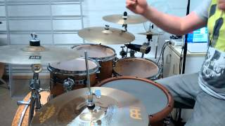 With A Lie Help From My Friends - Drum Cover (Aaron Spears Version)