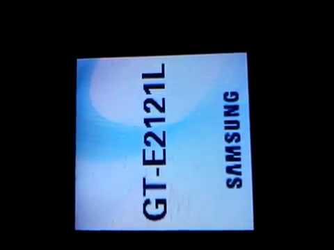 Celular Samsung Gt-e2121l Ver #57699