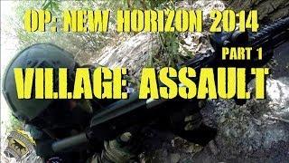 DesertFox Airsoft OP: New Horizon Part 1: Village Assault (Airsoft Jungle Warfare)