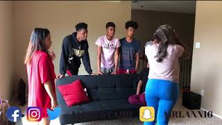 LOST MY MEMORY PRANK ON CHRIS AND TRAY , NIQUE AND KING AND CARMEN AND COREY thumbnail