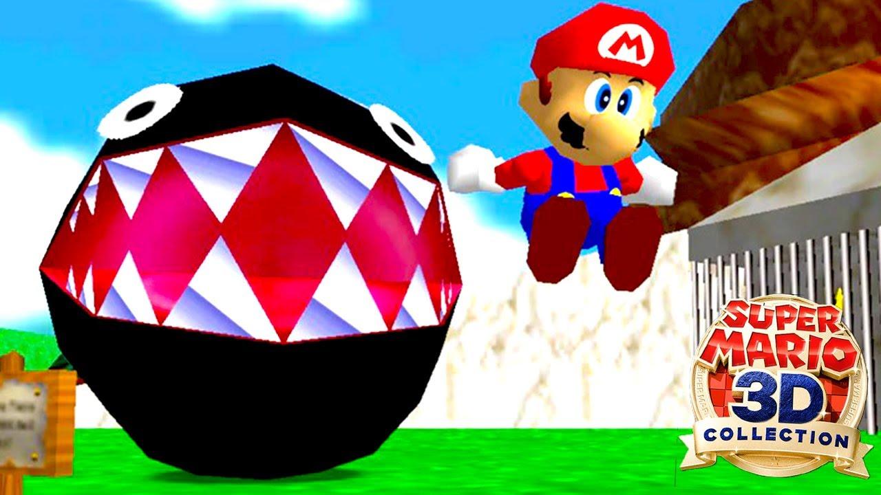 25年前に発売されたマリオ初の3Ⅾゲーム「 スーパーマリオ64 」が面白すぎる
