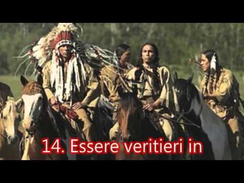 Le 20 regole del codice etico dei Nativi Americani ♥