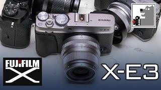 Fujifilm X-E3   Самый маленький в семействе