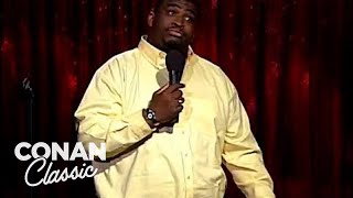 "Patrice O'Neal Is A Secret Beatles Fan - ""Late Night With Conan O'Brien"""