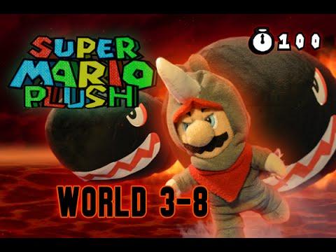 Super Mario Plush World 3-8