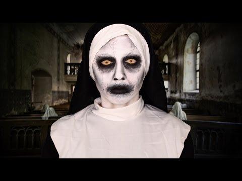 Maquillage Halloween , Zombie (sans latex) DAME BLANCHE / Maquillage  Halloween FACILE \u0026 RAPIDE !