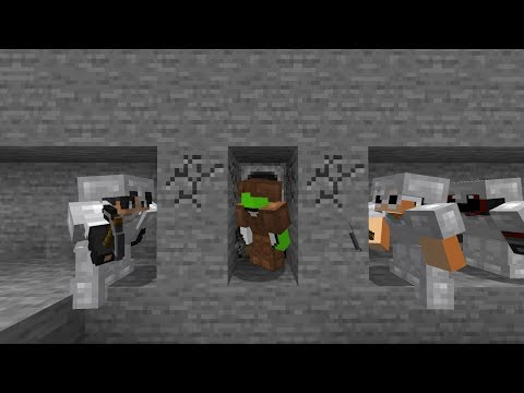 Minecraft Speedrunner VS 3 Hunters FINALE