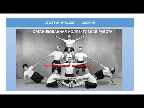 видео: ОРГАНИЗАЦИЯ КОЛЛЕКТИВНОЙ РАБОТЫ  (СПб методологическое совещание)