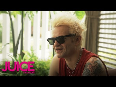 Deryck Whibley on how NOFX inspired him to start Sum 41 | JUICE Singapore