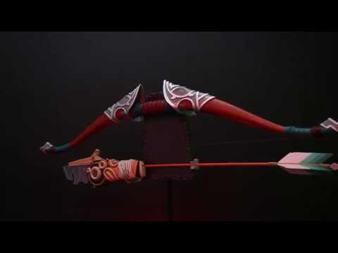 Legend of Zelda - Breath of the Wild - Traveler's Bow and Guardian Arrow Replica Set - Video