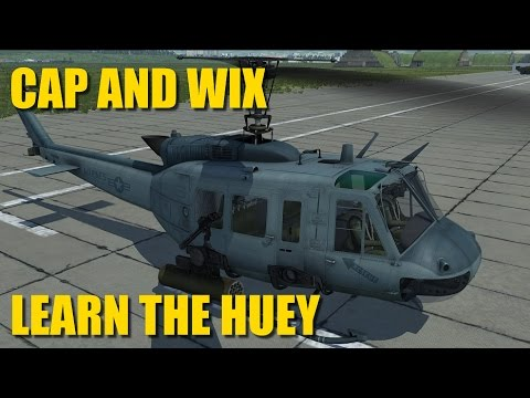Reapers Learn To Fly The Huey, Tutorial, Training, Guide | DCS