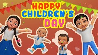 Happy Children's Day | Hindi Rhymes for Children | Infobells