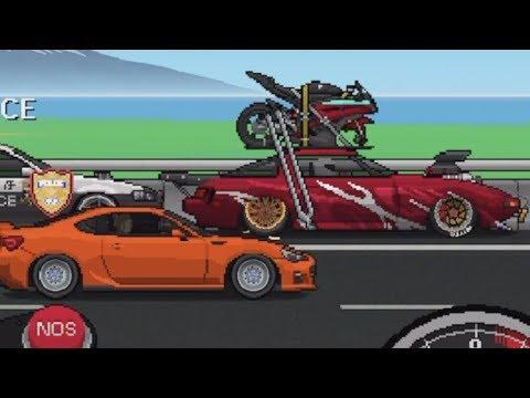Opening 60 Crates! 3400 HP FB Build- Pixel Car Racer UPDATE / Side Exhaust | SLAPTrain