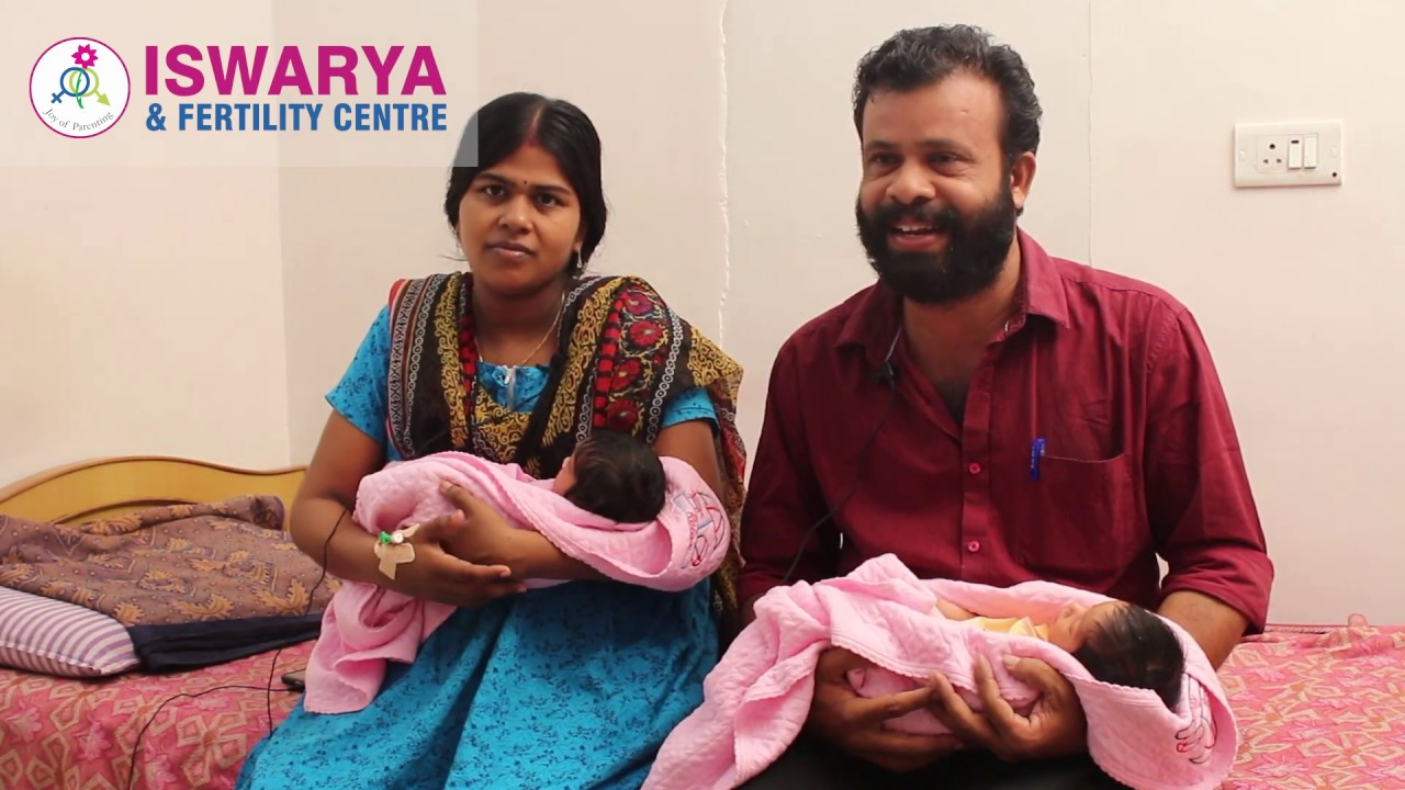 #PALAKKAD #KERALA COUPLE FEEDBACK AFTER SUCCESSFUL IVF TWINS DELIVERY- BEST  IVF ICSI CENTER
