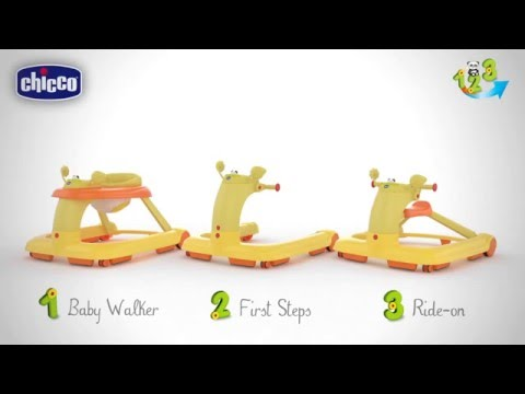Chicco 123 Baby Walker Rider Video Review